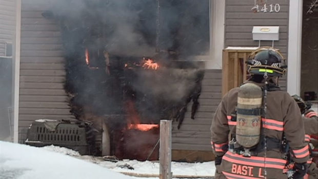 A house fire Sunday caused an estimated $150,000 d