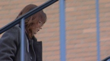 Ruby Ann Ruffolo was convicted of the first-degree murder of her husband John in B.C. Supreme Court. Nov. 18, 2010. (/A\)