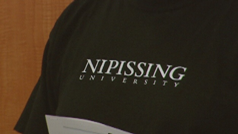 Nipissing University officials in Brantford