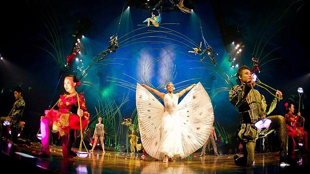 A scene from Cirque du Soleil's Amaluna show, which runs in Edmonton from May 29 to June 16, 2013. PHOTO: Cirque du Soleil.
