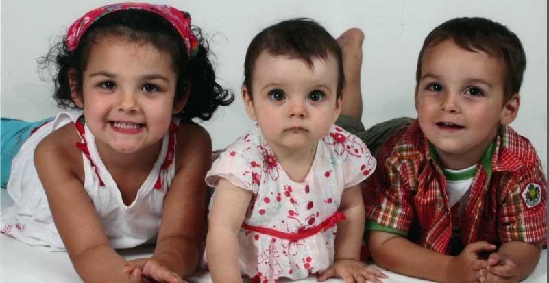Lorelie, 5, Anais, 2, and Loic, 4, were found dead in Drummondville Sunday.