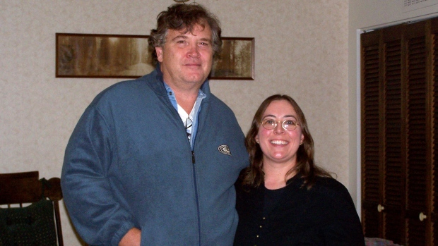 This undated photo provided by Casper College shows professors Jim Krumm and Heidi Arnold, the couple killed by Krumm's adult son Chris Krumm on Friday, Nov. 30, 2012. (AP/Casper College)