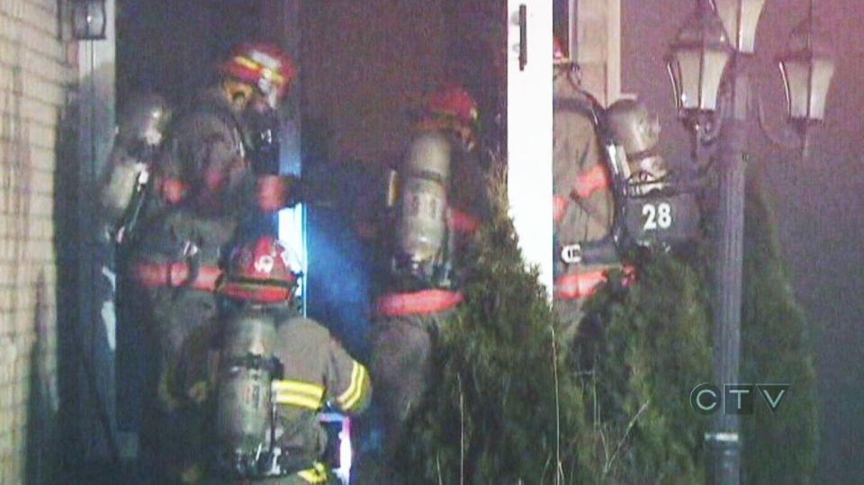 CTV Toronto: Mother and children taken to hospital