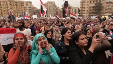 Cairo Egypt protesters