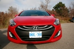 The front grill of the 2013 Elantra GT follows the same design style that you find throughout the car. (Bill Wang/CTVNews.ca)