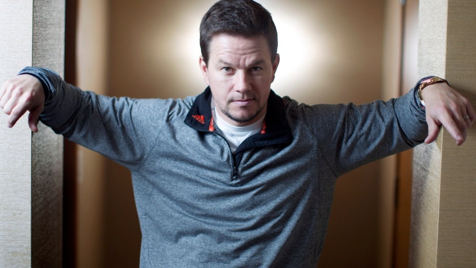 "Actor Mark Wahlberg poses for a photo as he promotes the movie ""Broken City,"" in Toronto on Tuesday, Dec. 4, 2012. (Chris Young / THE CANADIAN PRESS)"