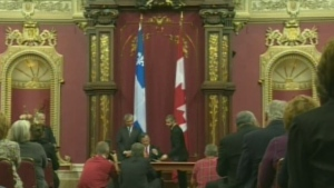 CTV Montreal: PQ loses bid to take down Canadian Flag