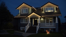 Christmas light displays