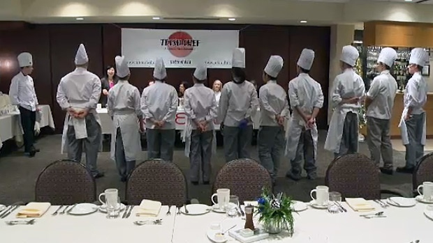 Some local culinary students are going head-to-head to see whose dish will be added to a local restaurant chain's product line and sold at grocery stores across Alberta.