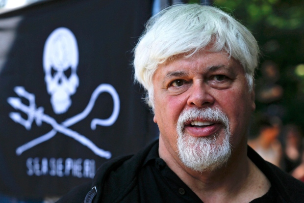Paul Watson in Berlin on May 23, 2012.