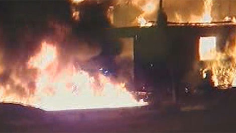 The fire was reported in the RM of La Broquerie around 5:30 a.m. on Nov. 20.