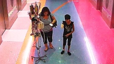 Mother removes leukemia patient daughter