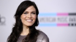 Mandy Moore arrives at the 38th Annual American Music Awards on Sunday, Nov. 21, 2010 in Los Angeles. (AP Photo/Chris Pizzello)