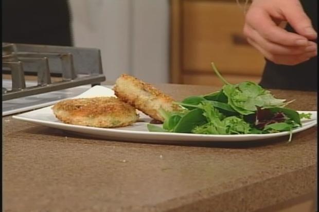 Karla's Steelhead Fish Cakes with  Fennel Sauce