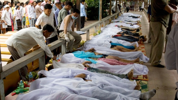 Hundreds Killed In Cambodia Stampede Ctv News