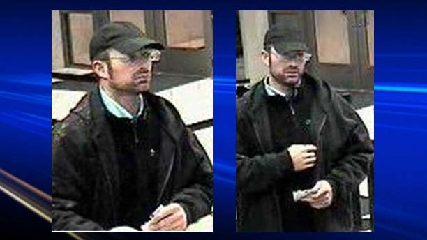 Person of interest in a series of financial robberies.