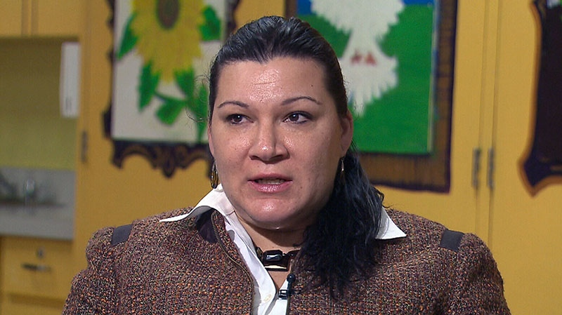 Gina Csany-Robah, executive director of the Roma Community Centre in Toronto, asks for compassion towards people who were smuggled into Canada.