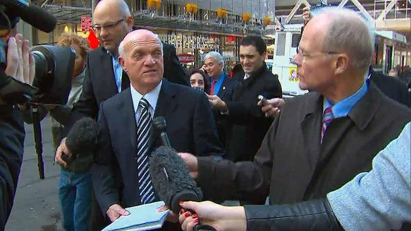 New Jersey Devils general manager Lou Lamoriello tells CTV's Roger Smith that as long as the two sides are talking, he's encouraged.