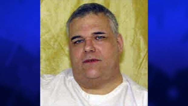This undated file photo provided by the Ohio Dept. of Rehabilitation and Corrections shows death row inmate Ronald Post. Post, 53, is scheduled to be executed Jan. 16, 2013, for the 1983 shooting death of a hotel desk clerk. (AP / Ohio Dept. of Rehabilitation and Corrections)