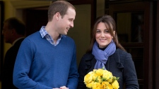 Kate leaves hospital