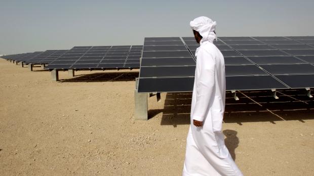 10mw photovoltaic plant at Masdar City