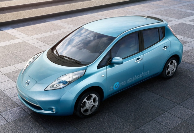 nissan leaf electric car to get equivalent of 99 mpg ctv. Black Bedroom Furniture Sets. Home Design Ideas