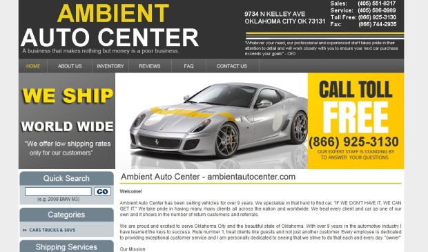 Ambient Auto Centre