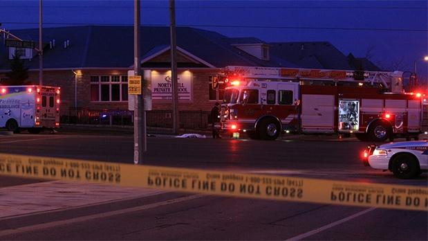 Fatal hit-and-run on Dufferin Street