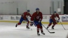 The Habs were subjected to a tough practice Tuesday after a loss against Philadelphia Monday night.