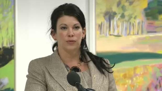 Tourism Minister Christine Cusanelli
