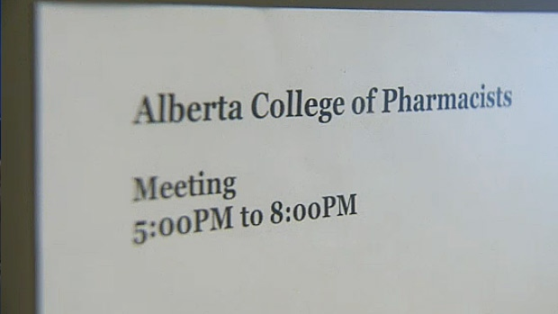 In a closed-door meeting Thursday, council members for the Alberta College of Pharmacists spent the day debating the issue and reviewing public feedback – which included more than 18,500 emails from Albertans.