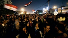 Egyptian protesters Muslim Brotherhood Morsi