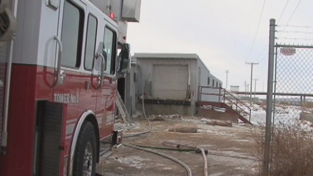 Thunder Creek Pork plant fire