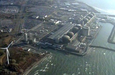 Ontario Power Generation's Pickering Nuclear Generating Station is seen in this view from the CTV News helicopter, Tuesday, Nov. 23, 2010. The site is located on the north shore of Lake Ontario in Pickering, Ont.