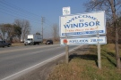 A Welcome to Windsor sign is seen in this file photo in Windsor, Ont. (Melanie Borrelli / CTV Windsor)