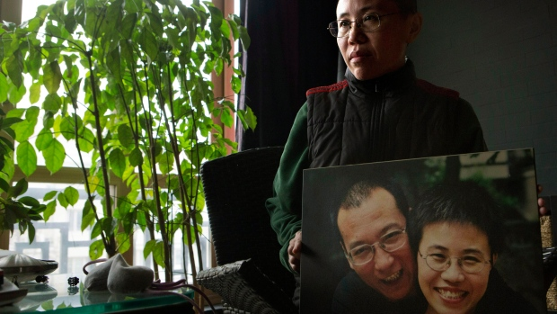 Liu Xia speaks about husband Liu Xiaobo