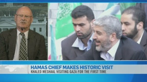 CTV News Channel: Hamas chief returns to Gaza