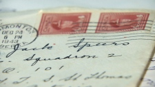 Letter from the Second World War finally delivered