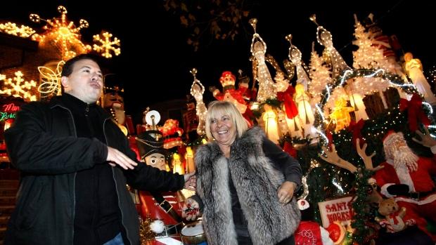 Christmas lights holidays