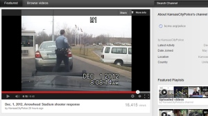 Police have released a video that shows officers finding Kansas City Chiefs linebacker Jovan Belcher. (YouTube)