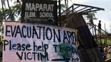Deadly typhoon threatens Philippines again