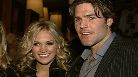 The winning bid to have dinner with Mike Fisher and Carrie Underwood went for $24,000, Tuesday, Nov. 23, 2010. The money will benefit Rogers House and Candlelighters.