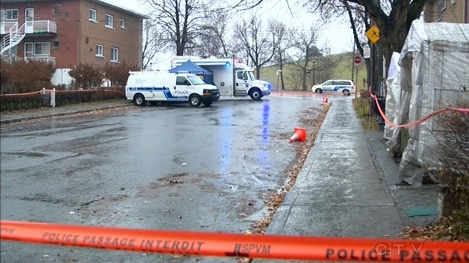 Montreal police found a man they believed to be linked to the mafia dead in his car on Saturday, Dec. 8, 2012.