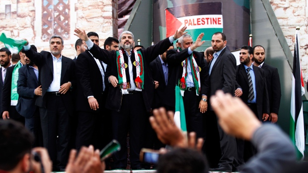 Hamas chief Khaled Mashaal