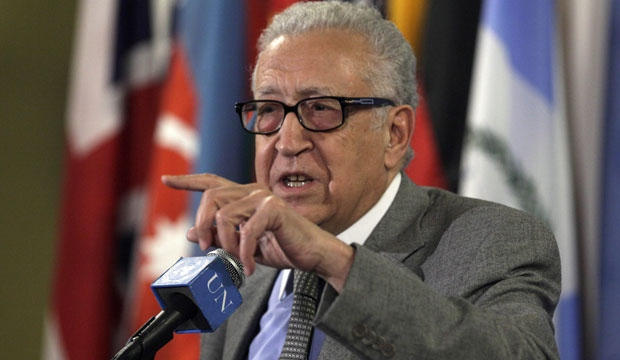 Lakhdar Brahimi deaded to Damascus