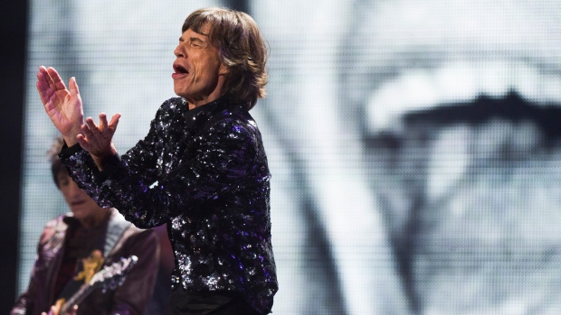 Mick Jagger of The Rolling Stones on Dec. 8, 2012