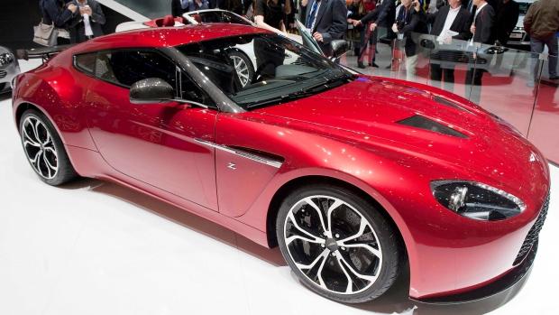 Aston Martin V12 Zagato on March 6, 2012.