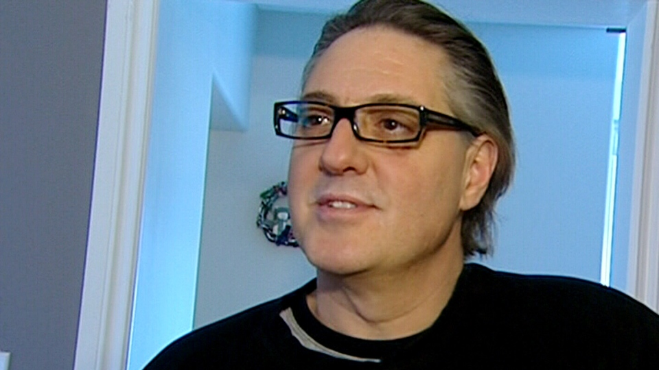 Brad Lambert speaks to CTV News after spending 21 nights lost in the wilderness of southeast Manitoba, Sunday, Dec. 9, 2012.