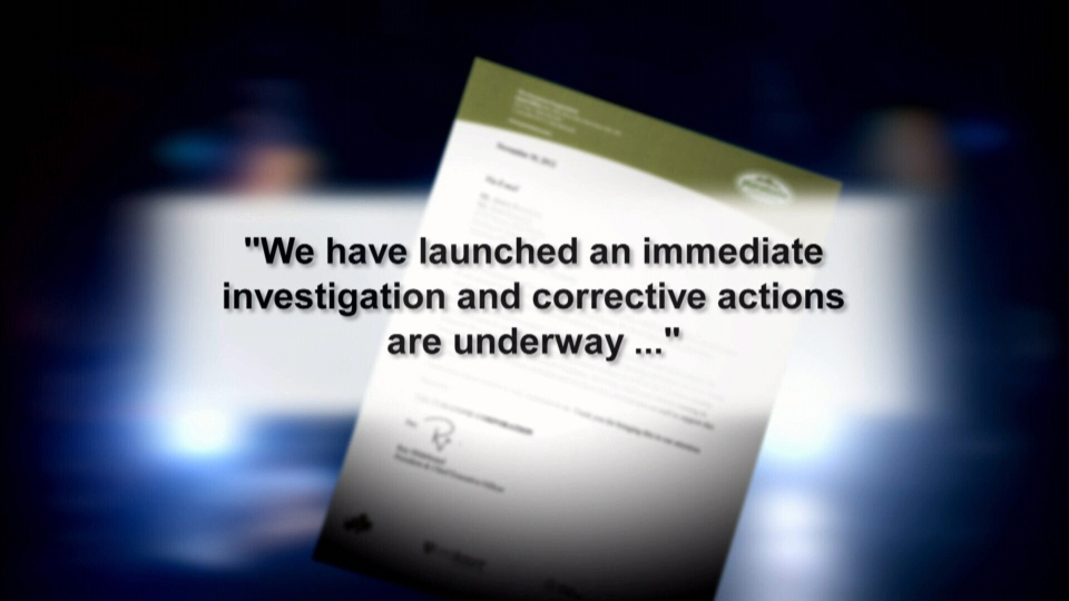 A Puratone Corp. pig farm has released a statement saying they will conduct their own investigation and take corrective actions.