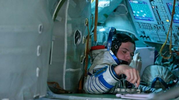 Russian cosmonaut Roman Romanenko